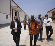 ECG Board officials pay familiarisation visit to Alpha TND Limited